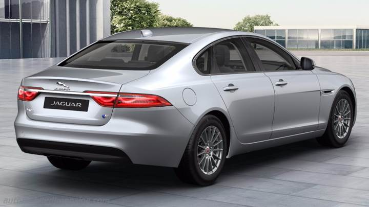 Jaguar XF 2016 kofferbak