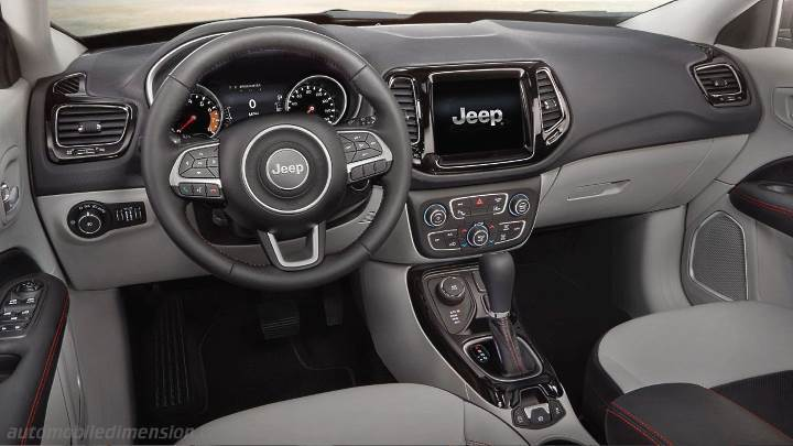 Jeep Compass 2017 Dimensions Boot Space And Interior