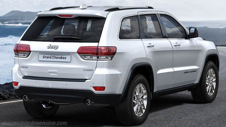 Jeep Grand Cherokee 2013 Kofferraum