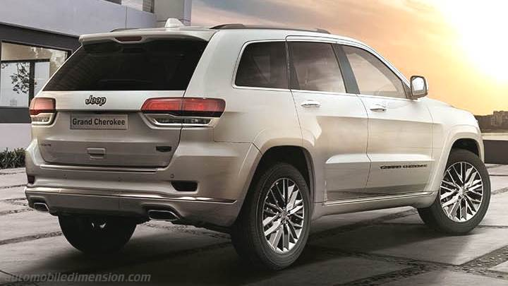 Jeep Grand Cherokee 2017 Kofferraum
