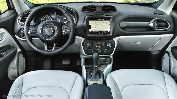Jeep Renegade 2019 dashboard