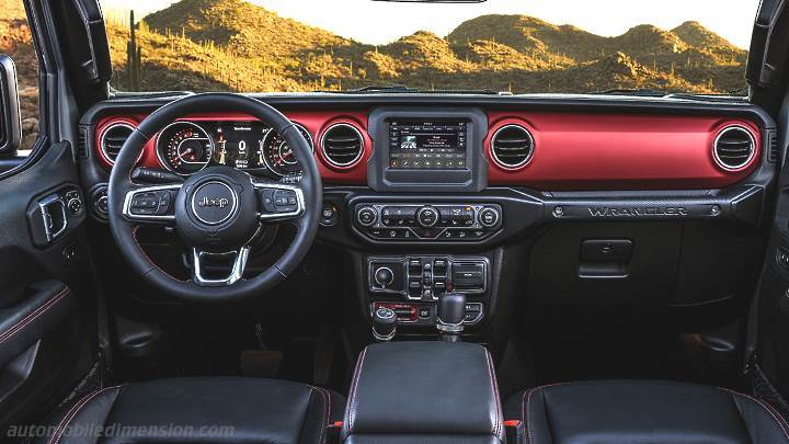 Jeep Wrangler Unlimited 2019 dashboard