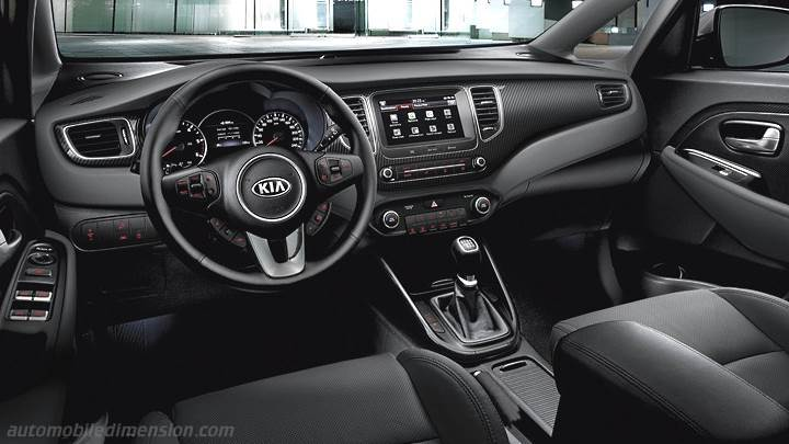 Kia Carens 2017 dashboard