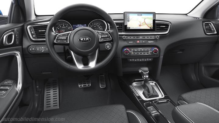 Kia Ceed 2018 dashboard
