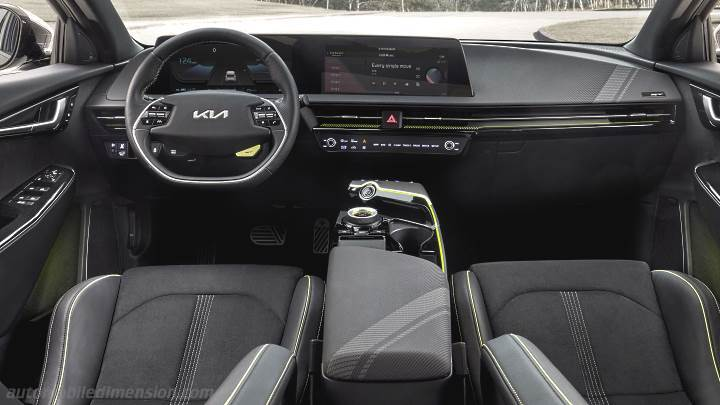 Kia EV6 2021 dashboard