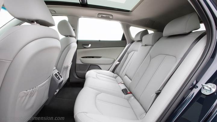 Kia Optima Sportswagon 2016 interior