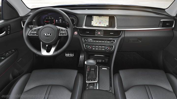 Kia Optima Sportswagon 2018 dashboard