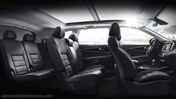 Kia Sorento 2015 Dimensions Boot Space And Interior
