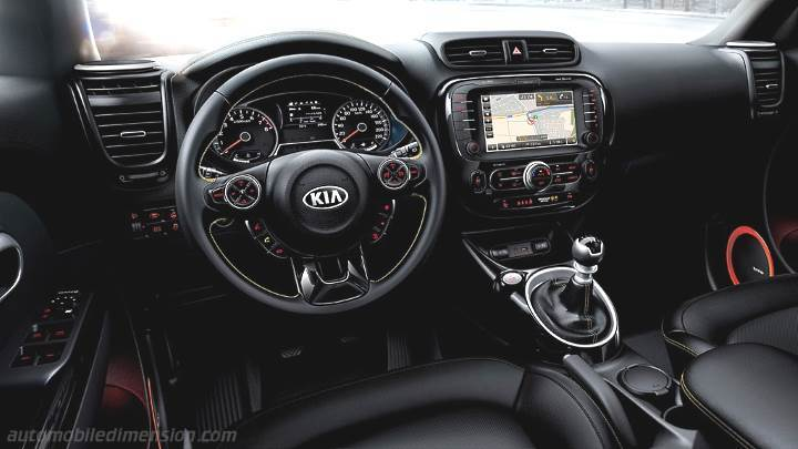 Kia Soul 2014 dashboard