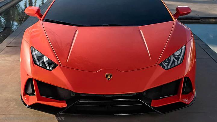 Lamborghini Huracan Evo 2019 Dimensions Boot Space And Interior