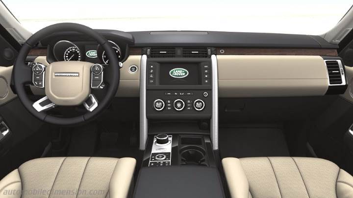 Land-Rover Discovery 2017 dashboard
