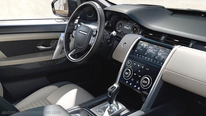 Land-Rover Discovery Sport 2019 dashboard