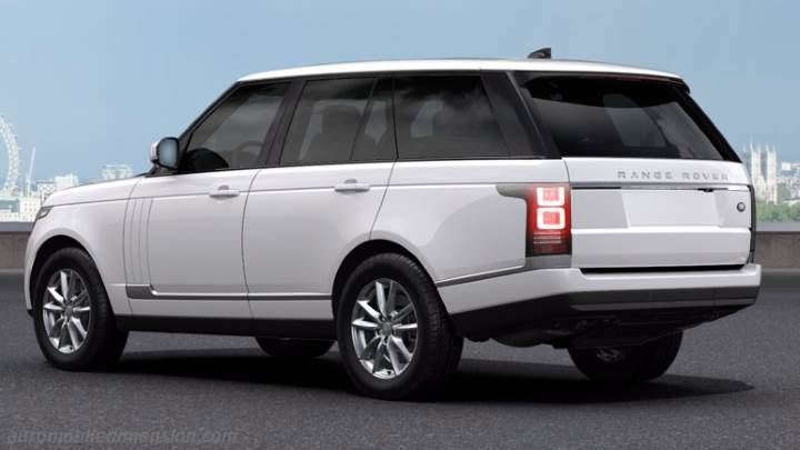 Audi Suv Models >> Land-Rover Range Rover 2013 dimensions, boot space and interior