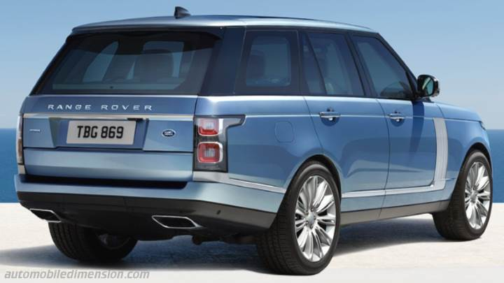 Ford Suv Models >> Land-Rover Range Rover 2018 dimensions, boot space and interior