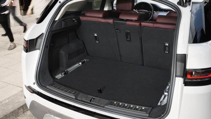 land rover range rover evoque 2019 dimensions boot space. Black Bedroom Furniture Sets. Home Design Ideas