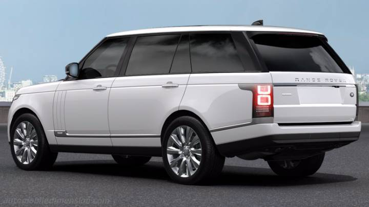 Land-Rover Range Rover LWB 2013 boot