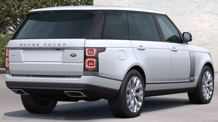 Land-Rover Range Rover LWB 2018 boot