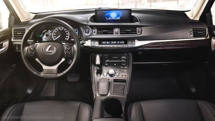 Lexus CT 2018 dashboard