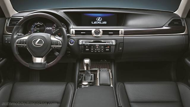 Lexus GS 2016 dashboard