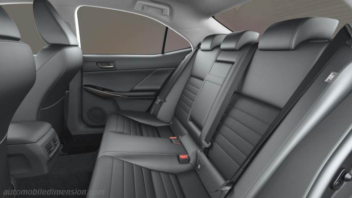 Lexus Is 2017 Dimensions Boot Space And Interior