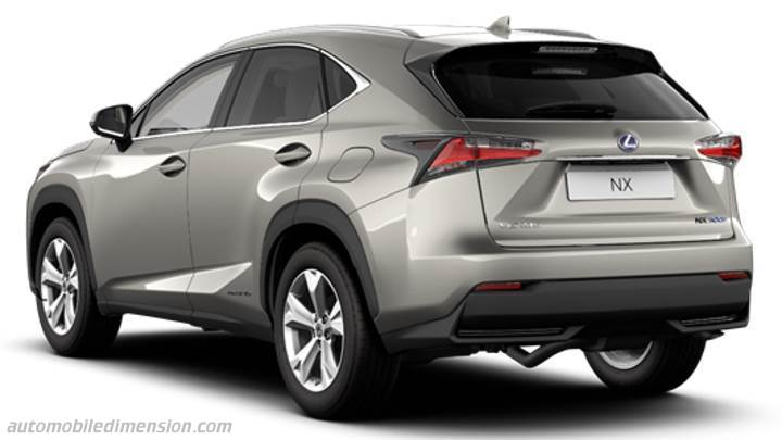 Lexus NX 2014 dimensions, boot space and interior