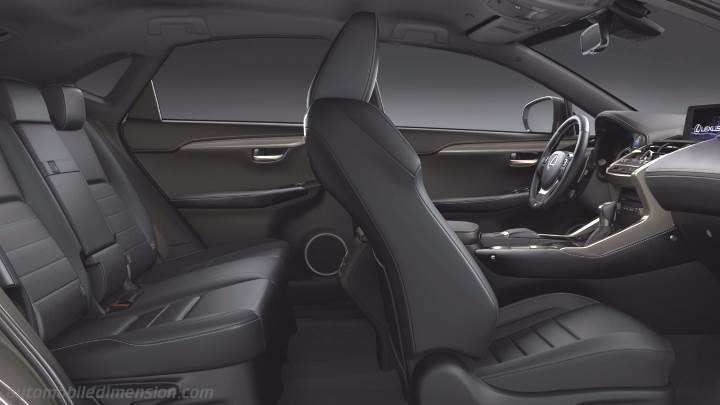 Lexus Nx Interior >> Lexus Nx 2018 Dimensions Boot Space And Interior