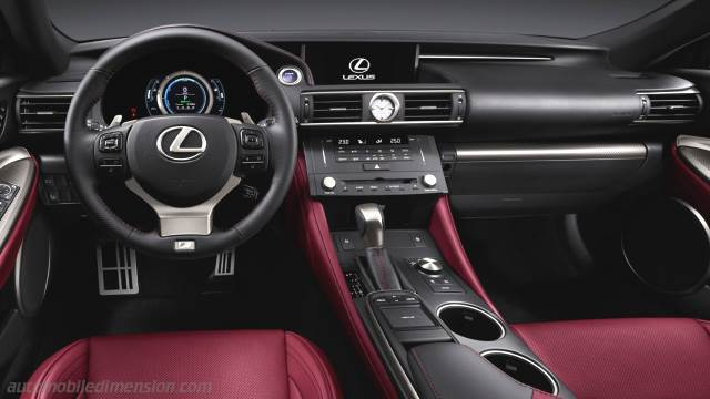 Cruscotto Lexus RC 2015