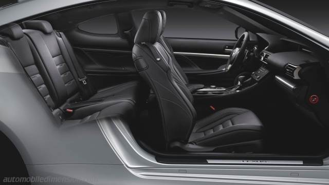 Lexus Rc 2015 Dimensions Boot Space And Interior