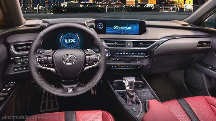 Lexus Ux 2019 Dimensions Boot Space And Interior