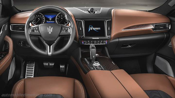 Maserati Levante 2019 dashboard