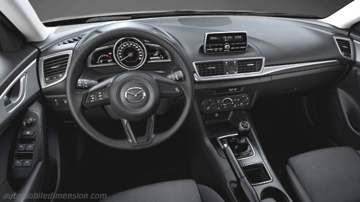 Mazda 3 2017 Dashboard Zoom Nice Look