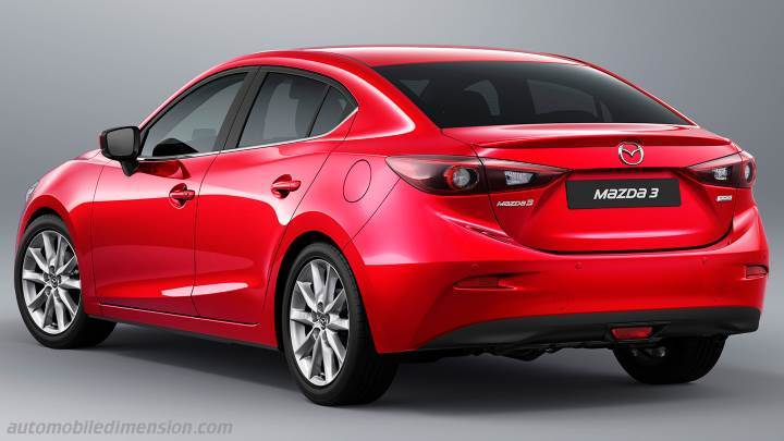 Mazda 3 Sportsedan 2017 Dimensions Boot Space And Interior