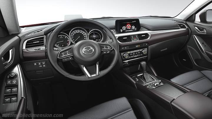 Mazda 6 Wagon 2017 Dimensions Boot Space And Interior