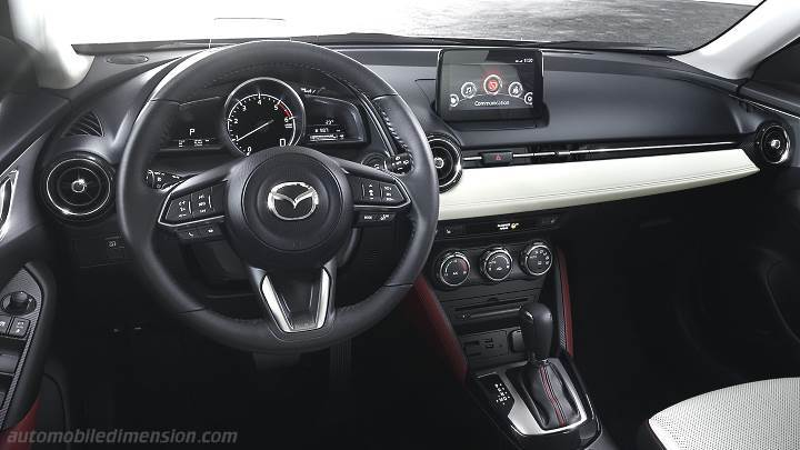 Mazda CX-3 2015 dimensions, boot space and interior