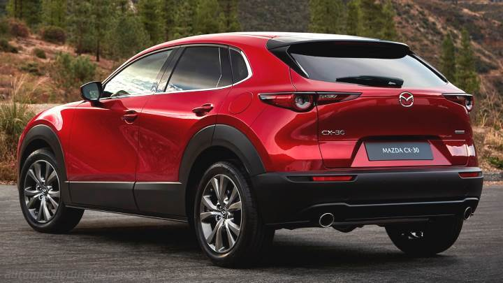 Mazda CX-30 2020 kofferbak