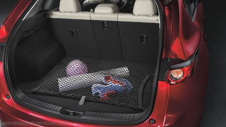 Mazda Cx 5 Cargo Space Dimensions >> Mazda CX-5 2017 dimensions, boot space and interior