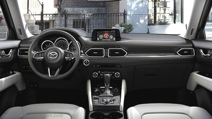 dimensions mazda cx 5 2017 coffre et int rieur. Black Bedroom Furniture Sets. Home Design Ideas