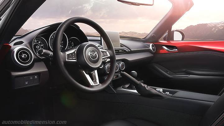 Mazda MX-5 2015 dashboard