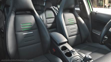 Mercedes-Benz A 2016 interior