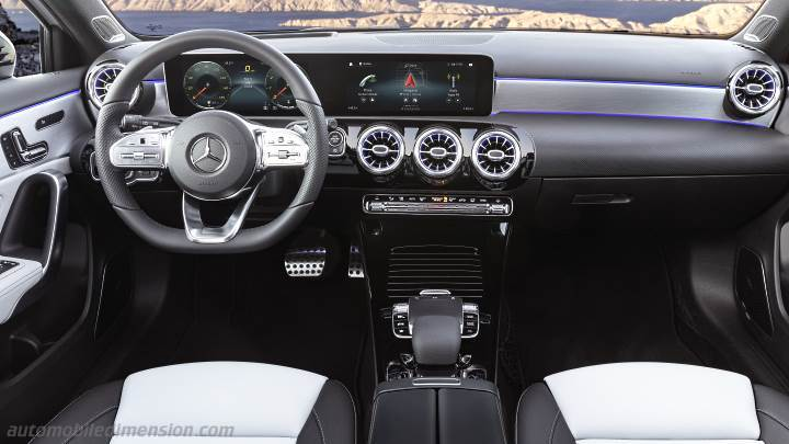 Mercedes-Benz A 2018 dashboard