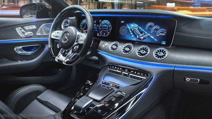 mercedes benz amg gt 4 door coup 2019 dimensions boot. Black Bedroom Furniture Sets. Home Design Ideas