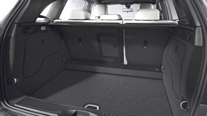 dimensions mercedes benz b sports tourer 2015 coffre et int rieur. Black Bedroom Furniture Sets. Home Design Ideas