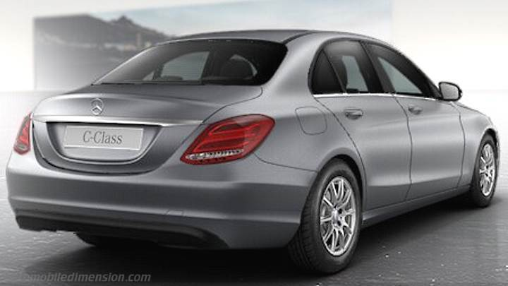 Coffre Mercedes-Benz C 2014