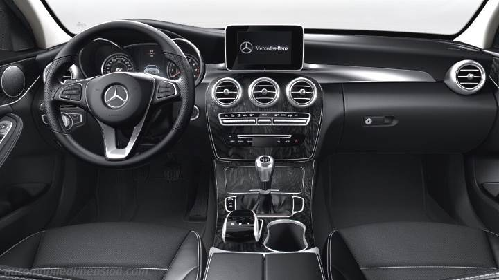 Mercedes-Benz C 2014 Armaturenbrett