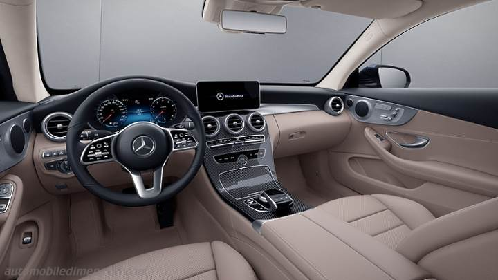 Mercedes-Benz C Coupe 2018 dashboard
