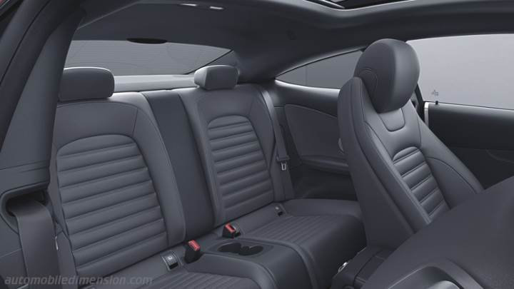 Mercedes Benz C Coupe Interior