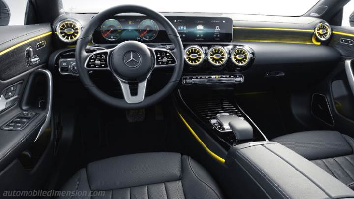 Mercedes-Benz CLA Shooting Brake 2019 dashboard