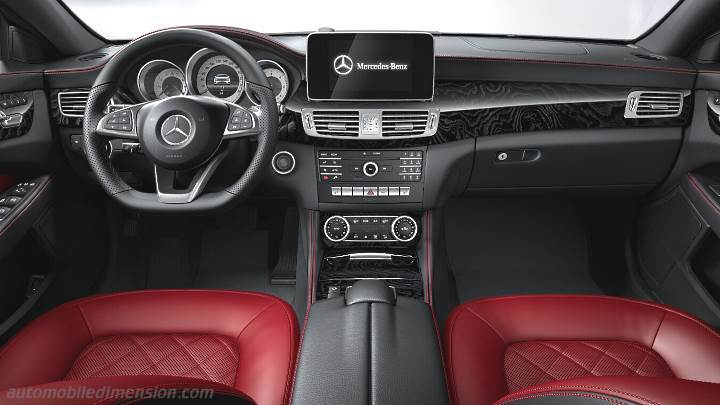 Mercedes-Benz CLS Coupé 2015 dashboard