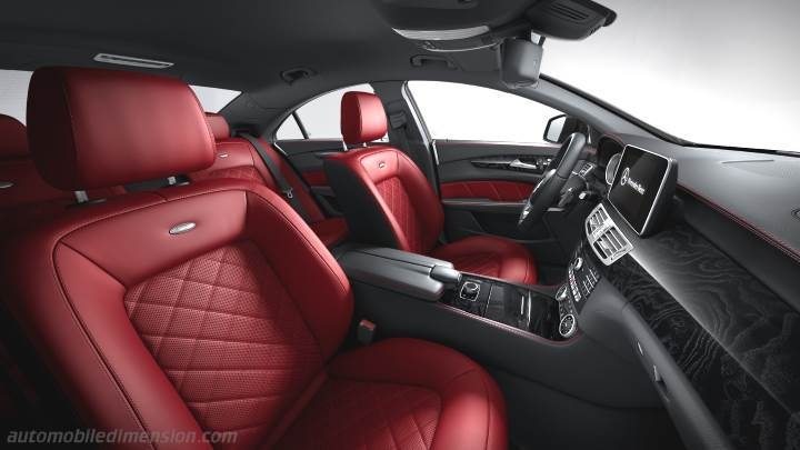 Mercedes-Benz CLS Coupé 2015 interior