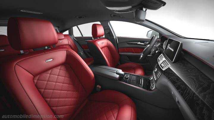 Mercedes-Benz CLS Shooting Brake 2015 interieur